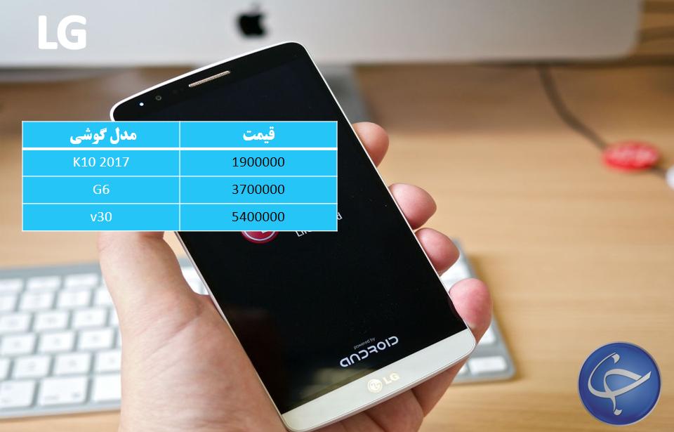 آخرین قیمت تلفن همراه در بازار + جدول - 12