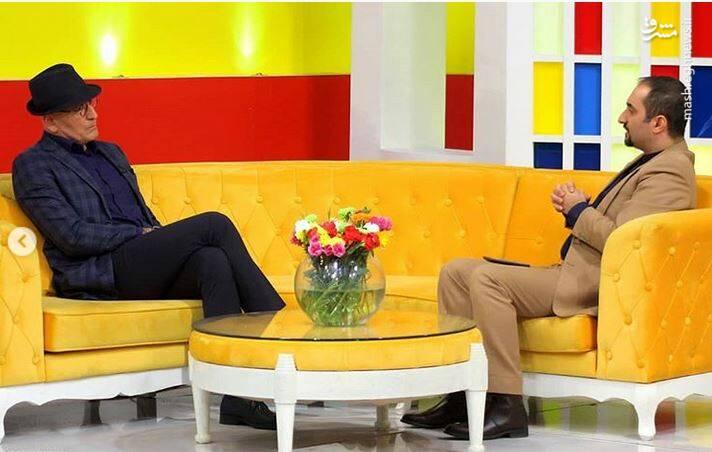 مجری معروف تلویزیون در کنار حضرت والا - 4