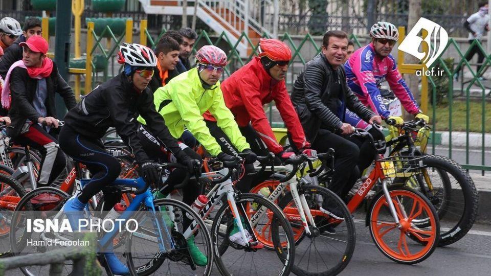 همایش بزرگ دوچرخه سواری در تهران - 26
