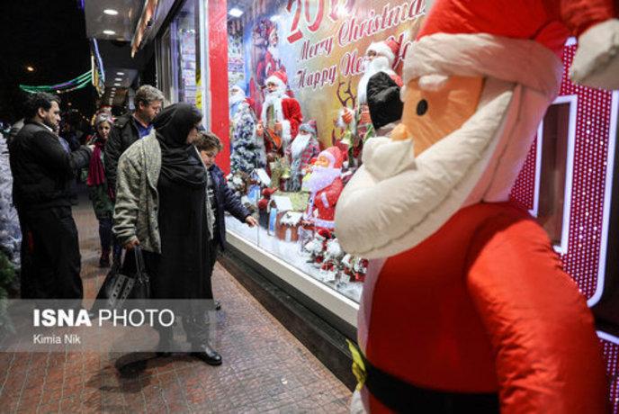 خرید کریسمس در تهران - 9