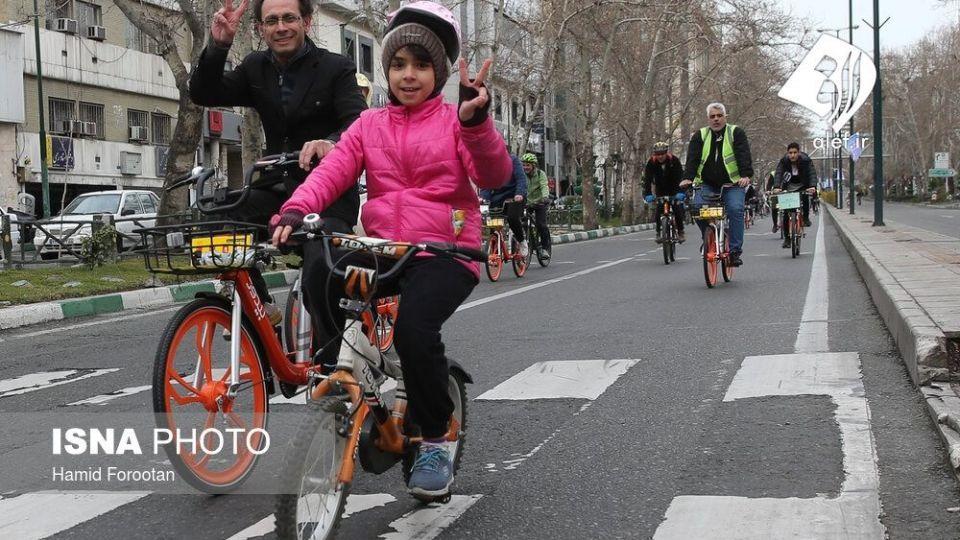 همایش بزرگ دوچرخه سواری در تهران - 28