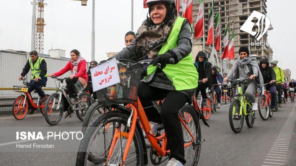 همایش بزرگ دوچرخه سواری در تهران - 16