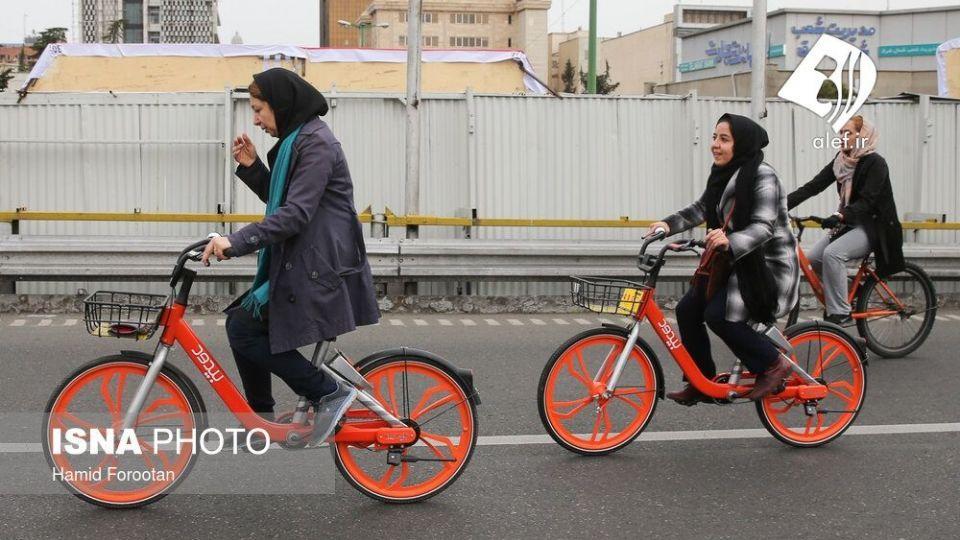 همایش بزرگ دوچرخه سواری در تهران - 15