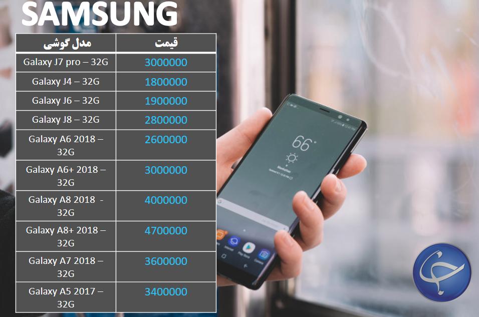 آخرین قیمت تلفن همراه در بازار + جدول - 8