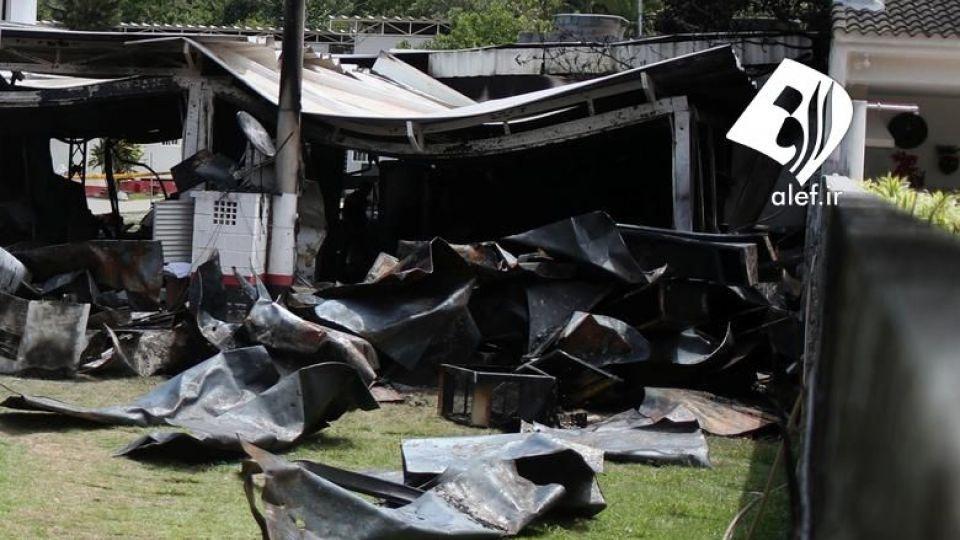 بازیکنان جوان در ورزشگاهی در برزیل در آتش سوختند. - 13