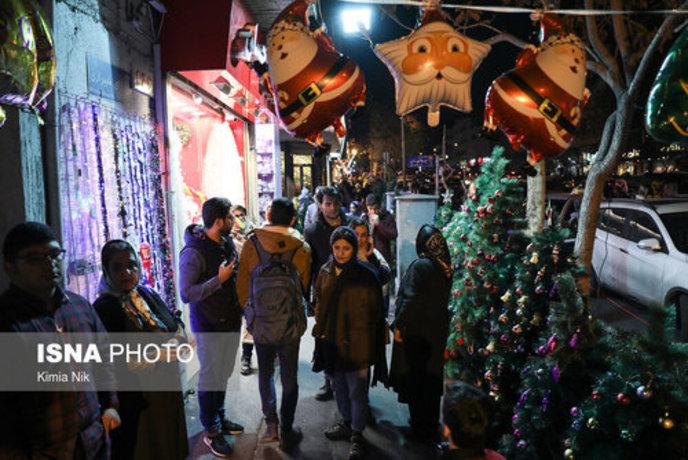 خرید کریسمس در تهران - 19