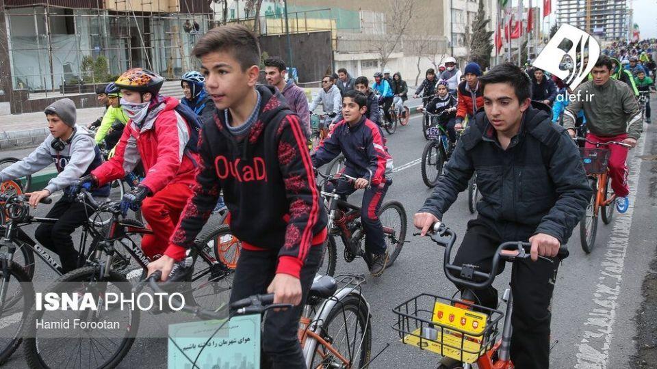 همایش بزرگ دوچرخه سواری در تهران - 8