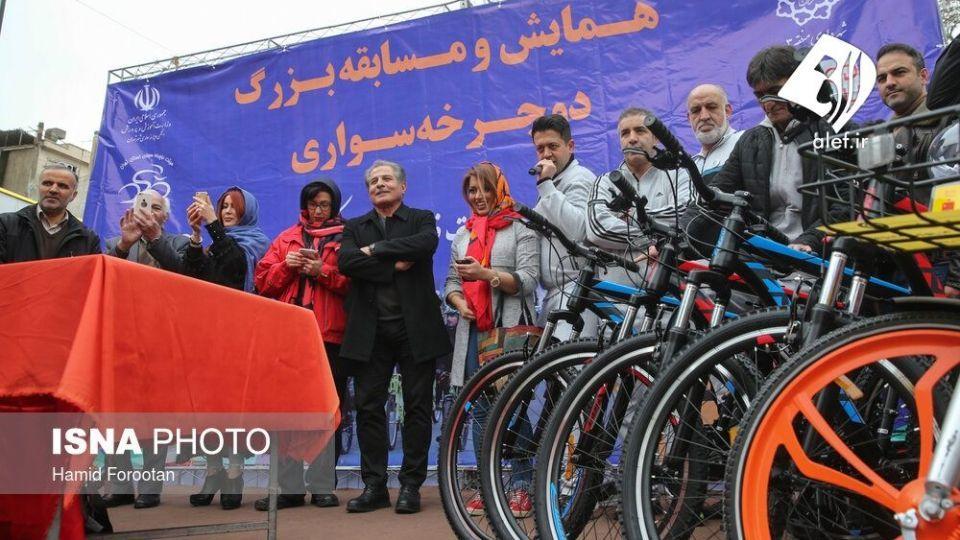 همایش بزرگ دوچرخه سواری در تهران - 25