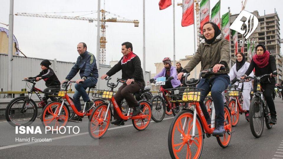 همایش بزرگ دوچرخه سواری در تهران - 18