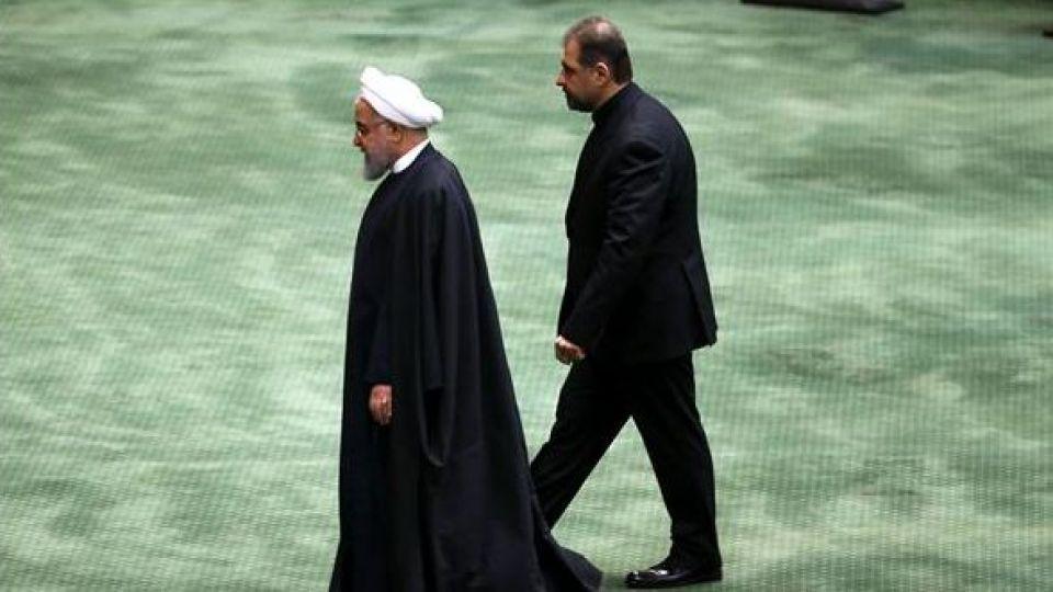 حضور رئیس جمهور در صحن علنی مجلس شورای اسلامی - 3
