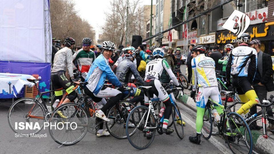 همایش بزرگ دوچرخه سواری در تهران - 33