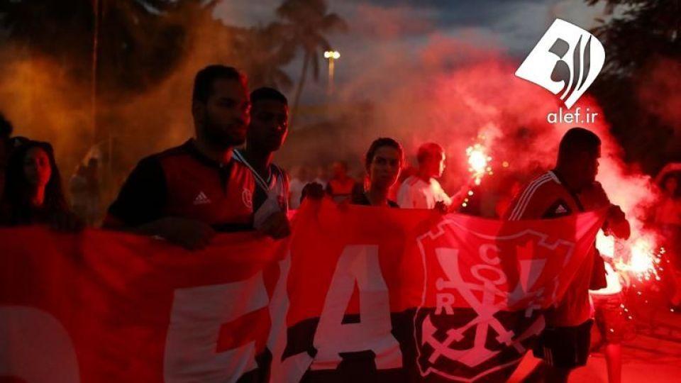 بازیکنان جوان در ورزشگاهی در برزیل در آتش سوختند. - 9