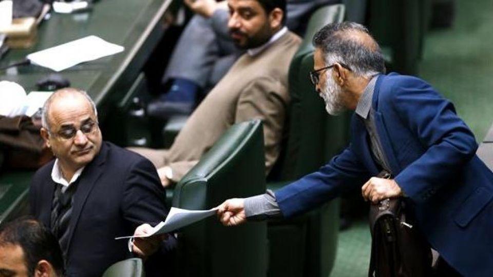 حضور رئیس جمهور در صحن علنی مجلس شورای اسلامی - 9