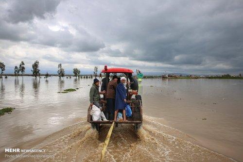 سیلاب در روستاهای استان گلستان (عکس) - 9