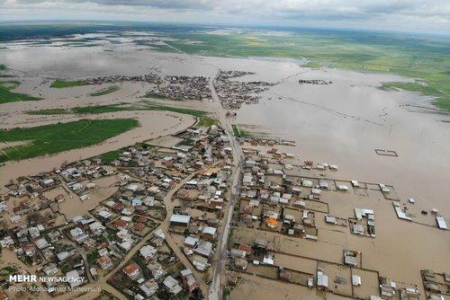 سیلاب در روستاهای استان گلستان (عکس) - 3