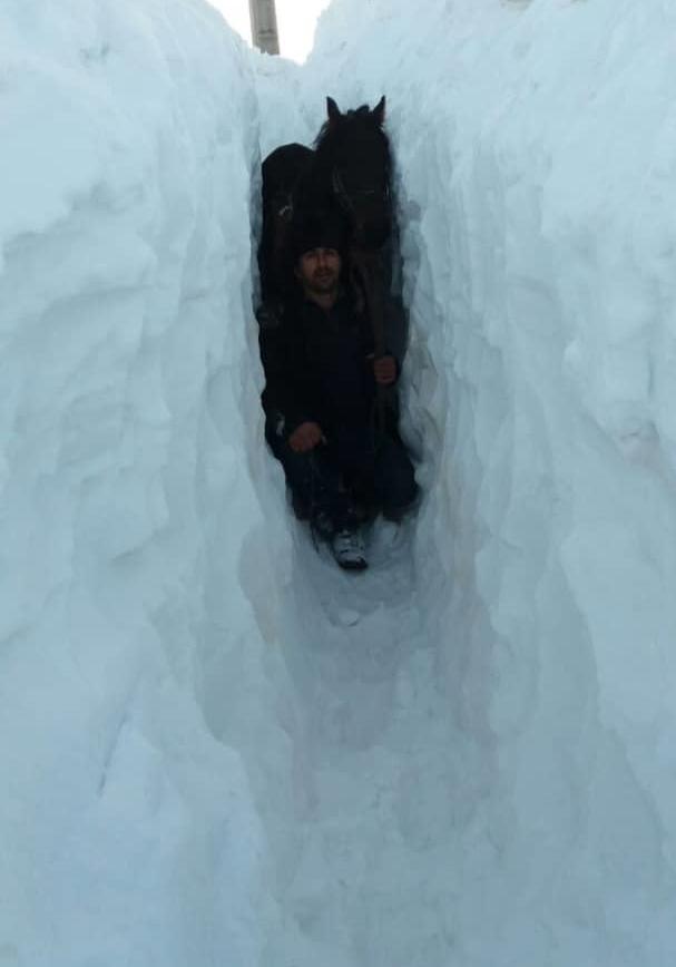 گفتگو با معلمی که برای دانش آموزانش در دل برف تونل زد (+عکس) - 22