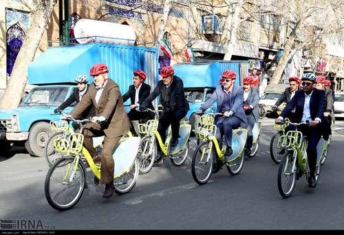 دوچرخه سواری شهرداران کلانشهرهای ایران (عکس) - 4