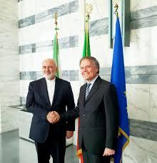 دیدار و گفتوگوی ظریف با وزیر امور خارجه ایتالیا - 0