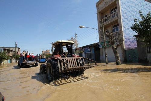 گزارش تصویری اختصاصی عصر ایران از مناطق سیلزده آققلا و روستاهای اطراف - 44