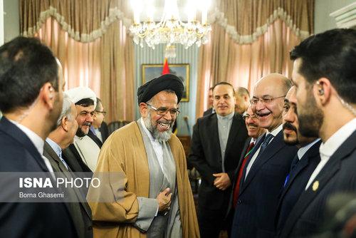 عکسهایی از دیدارهای رئیس جمهور عراق در تهران - 2
