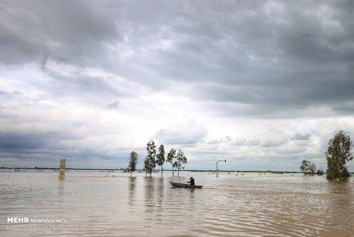 سیلاب در روستاهای استان گلستان (عکس) - 7