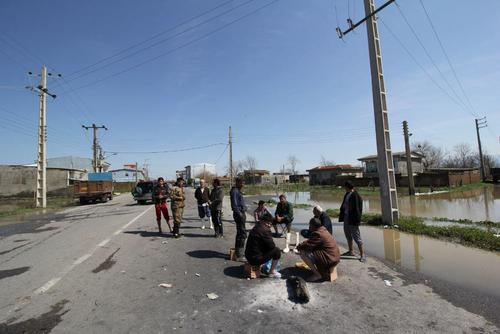 گزارش تصویری اختصاصی عصر ایران از مناطق سیلزده آققلا و روستاهای اطراف - 43