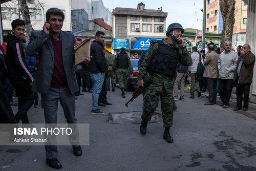 درگیری مسلحانه در رشت (عکس) - 11