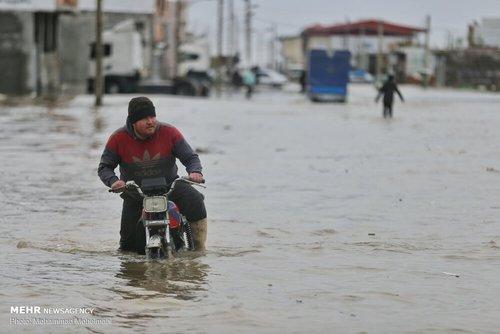سیلاب در روستاهای استان گلستان (عکس) - 15