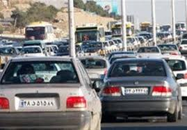 ترافیک سنگین در جادههای ورودی و خروجی مشهد - 1