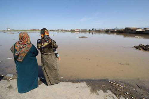 گزارش تصویری اختصاصی عصر ایران از مناطق سیلزده آققلا و روستاهای اطراف - 50