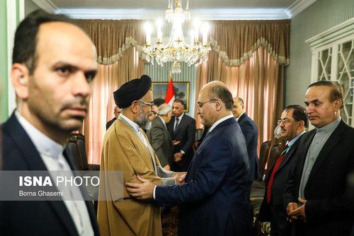 عکسهایی از دیدارهای رئیس جمهور عراق در تهران - 0