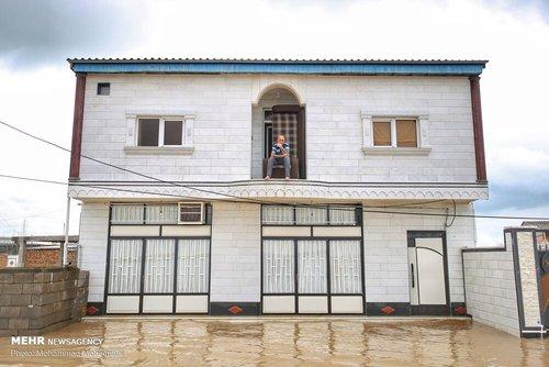 سیلاب در روستاهای استان گلستان (عکس) - 12