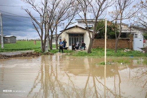 سیلاب در روستاهای استان گلستان (عکس) - 8