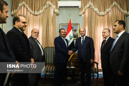 عکسهایی از دیدارهای رئیس جمهور عراق در تهران - 4