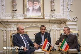 لاریجانی در دیدار رئیس جمهور عراق: پیوند تهران و بغداد جدا ناشدنی است/ برهم صالح: روی شما حساب می کنیم - 0