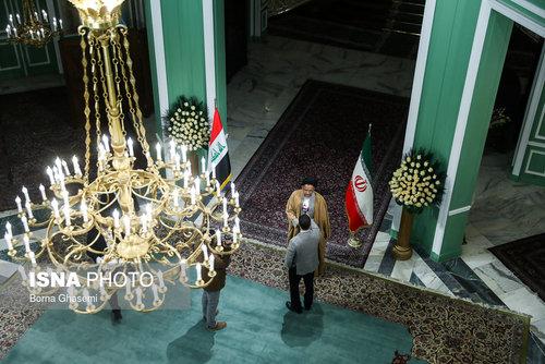عکسهایی از دیدارهای رئیس جمهور عراق در تهران - 8