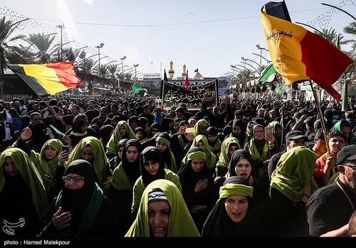 اربعین حسینی در کربلای معلی (عکس) - 16