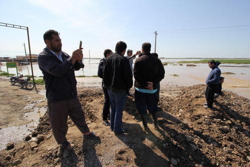 گزارش تصویری اختصاصی عصر ایران از مناطق سیلزده آققلا و روستاهای اطراف - 47