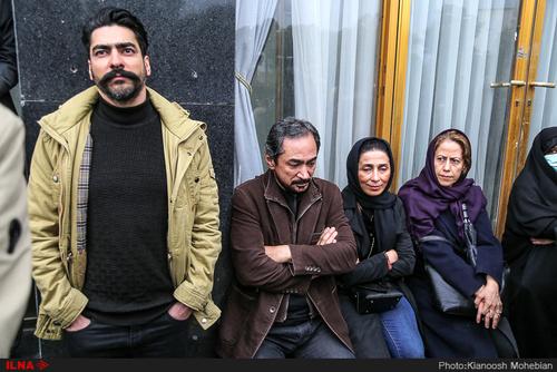 هنرمندان در بدرقه جمشید مشایخی (عکس) - 45