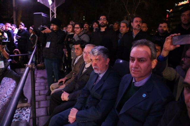 وزیر ارشاد: استعفانامهای وجود ندارد/ شرایط خوبی در محوطه تئاتر شهر نیست - 10