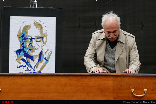 هنرمندان در بدرقه جمشید مشایخی (عکس) - 51