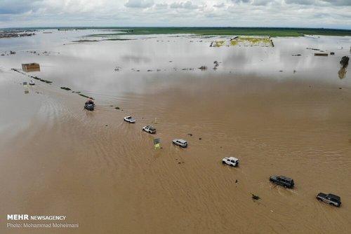 سیلاب در روستاهای استان گلستان (عکس) - 6