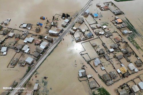 سیلاب در روستاهای استان گلستان (عکس) - 4