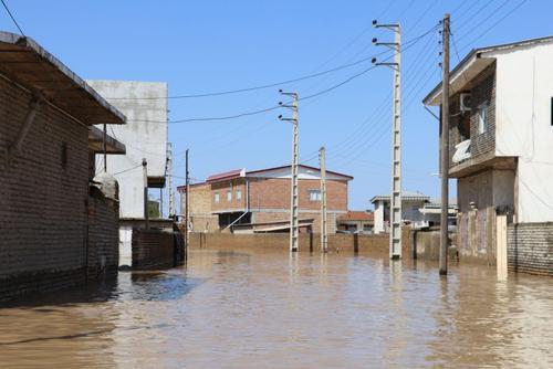 گزارش تصویری اختصاصی عصر ایران از مناطق سیلزده آققلا و روستاهای اطراف - 35