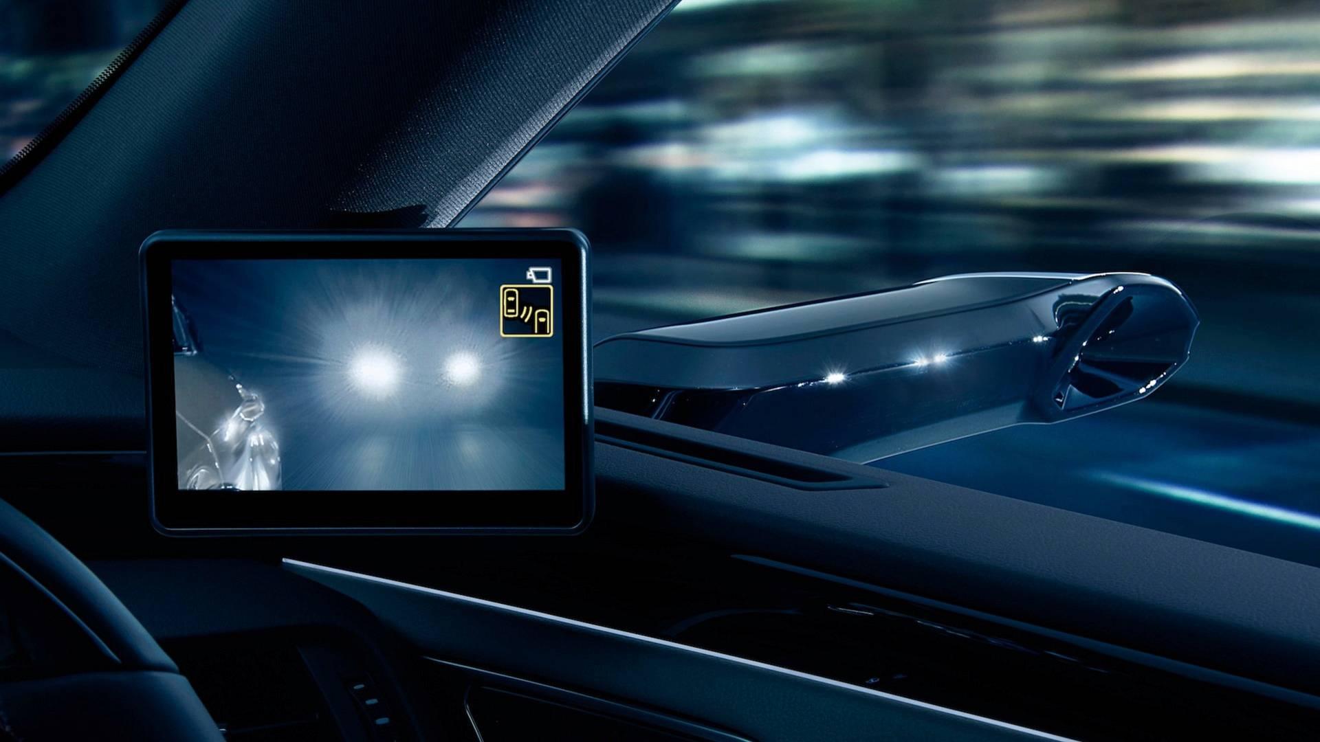 دوربینها جایگزین آینههای جانبی در لکسوس (+عکس) - 2
