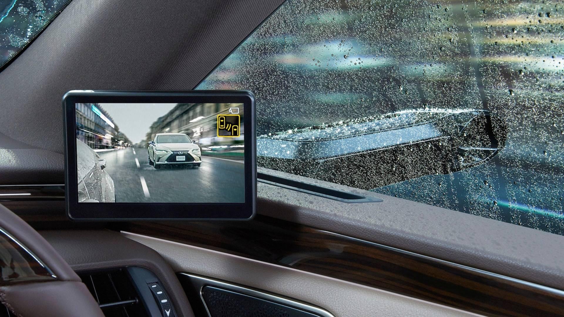 دوربینها جایگزین آینههای جانبی در لکسوس (+عکس) - 9