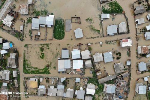 سیلاب در روستاهای استان گلستان (عکس) - 2