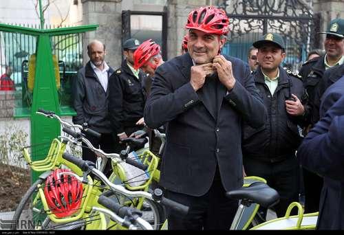 دوچرخه سواری شهرداران کلانشهرهای ایران (عکس) - 9