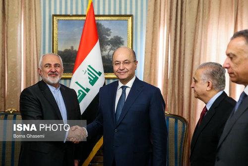 عکسهایی از دیدارهای رئیس جمهور عراق در تهران - 7