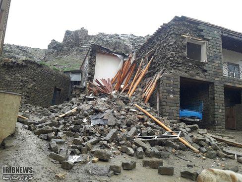 سیلاب در روستاهای استان گلستان (عکس) - 17
